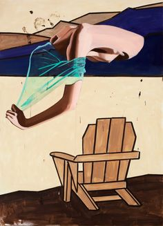 """Lookout,"" 2010, David Salle"
