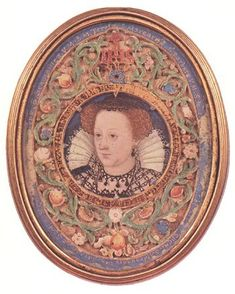 A miniature of Mary, Queen of Scots