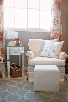 Bohemian chic nursery from Project Nursery!