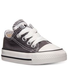 Converse Toddler Boys  Chuck Taylor Original Sneakers from Finish Line -  Gray b10573809