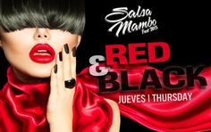 THURSDAY night at Salsa Mambo Fest 2015, the dress theme will be RED & BLACK Thursday Night, Red Black, Salsa, Shit Happens, Dress, Thursday, Gowns, Salsa Music, Restaurant Salsa