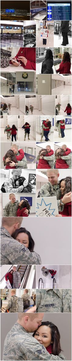 this is precious. There is just something romantic about your guy being in the army.