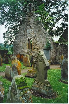 Ruined Auld Kirk Alloway, Ayrshire, Scotland