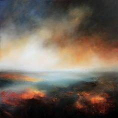 """Saatchi Art Artist Paul Bennett; Painting, """"Evening Breaks 2"""" #art"""