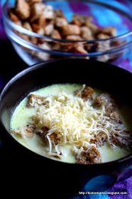 bistro mama: Kremowa zupa czosnkowa