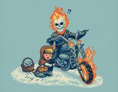 Mieux qu'une alumette, le Ghost Rider