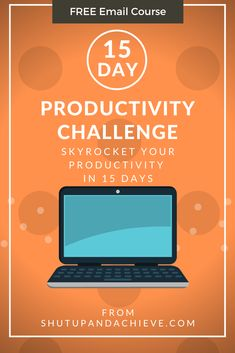 Tired of having way too much to do, but no time to do it? This 15-day productivity challenge will teach you how to get more done, check everything off your to-do list, and still have time to relax and enjoy life! #productivity #challenge #savetime