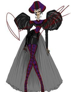 Disney villains, Claude Frollo by Daren J