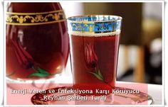 Enerji Veren ve Enfeksiyona Karşı Koruyucu Reyhan Şerbeti Tarifi www.sosyetikcadde.com