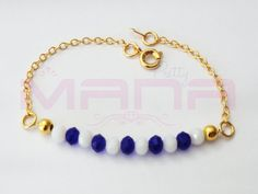 ON SALE UNIQUE Gold Anklet Beaded Anklet Gold Filled by PrettyMaNa