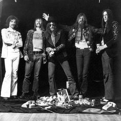 Hawkwind '74                       Simon House / Dave Brock / Lemmy / Nik Turner / Simon King.