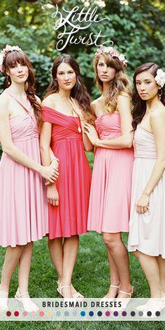 Dessy little twist dress - can be worn 30 different ways