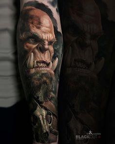 Blackhand orc Tattoo World of Warcraft