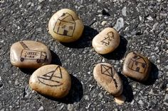 For some cheap creative fun, draw on some rocks with a fine point permanent marker to make your own story stones. Once your characters ...