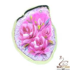Fashion Pendant Hand Painted Flower Jewelry necklace ZL803049 #ZL #Pendant