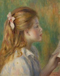 Pierre-Auguste Renoir - Reading (La Lecture)