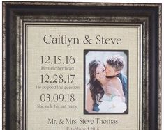 Personalized Wedding Gifts for the Couple, farmhouse signs for wedding day Thank You Gift For Parents, Wedding Gifts For Parents, Wedding Day Gifts, Bride Gifts, Wedding Ideas, Mother Of The Groom Gifts, Father Of The Bride, Gifts For Father, Anniversary Party Decorations