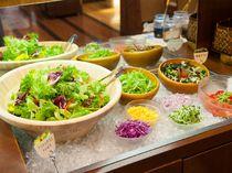 旬な野菜が揃う『サラダコーナー』AEN TABLE ユニバーサル・シティーウォーク大阪店