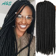 Long faux locs braiding hair dreadlock crochet braids havana mambo twist hair extension synthetic weave freetress crochet braid AS hair store from aliexpress. Our email is ashair2016@outlook.com. wholesale price