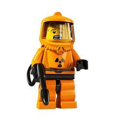 Lego Minifigure - Biohazard
