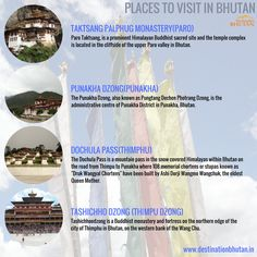 Places to visit in Bhutan. Attractions in Bhutan. For more such types of destinations, please visit our official website at: http://destinationbhutan.in/destinations/  #VisitBhutan #Bhutan #BhutanTourism #Destinations #TravelLove #Travelers #mustvisit