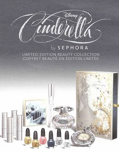 A Must-Have for Disney & Make-Up lovers [with lots of money to throw on make-up! haha 'cuz this stuff is expensive!]    Didn't buy any of it, but I've seen reviews on YouTube and the eyeshadow colors are just lovely!