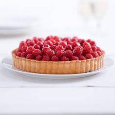 Mmmm, looks tasty!    Tart recipe - a buttery-crisp crust, a lightly sweetened filling, and seasonal fresh fruit...