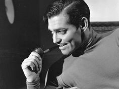 Anytime I stumble across a Clark Gable pin, I just have to repin it. :)
