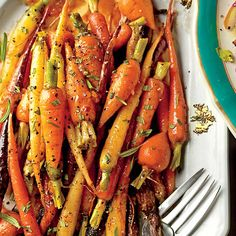 Perfectly Paired Holiday Sides: Orange-Ginger-Chile-Glazed Carrots