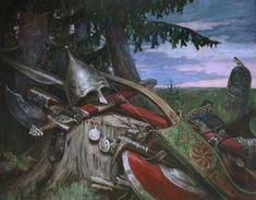 Преданья старины глубокой – картина художника Андрея Шишкина