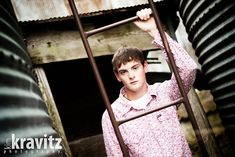 Senior Picture Ideas for Guys | Senior Photography | love the industrial look for a guy