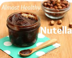 Almost healthy homemade Nutella