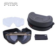 c6c51cb53f FMA Tactical Updated Version Safety Airsoft Goggle Glasses Hiking Fishing  Cycling Eyeglasses Outdoor Climbing Skiing Glasses