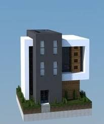 Image result for minecraft houses modern