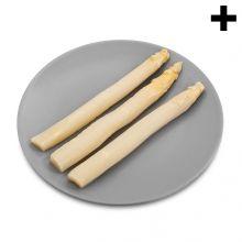 Imagen en la que se ve el plural del concepto espárragos blancos Plastic Cutting Board, Vegetables Garden, Concept