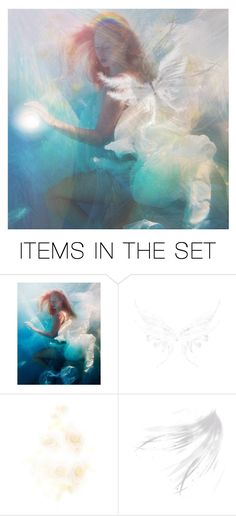 """""""Field of angels"""" by dutchconnection ❤ liked on Polyvore featuring art"""