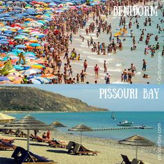 Escape the crowds at #PissouriBay. Both photos were taken in July...  Nikki at www.pissouribay.com