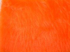 Plüschstoff Hemmers orange
