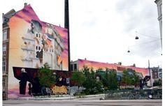 Mural In Copenhagan