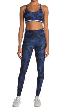 WEAR IT TO HEART | Camo High Waist Leggings | HauteLook