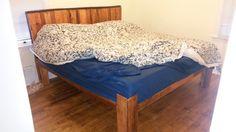 Pallet platform bed!