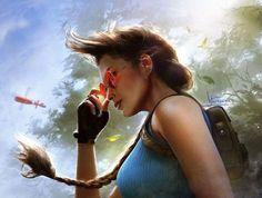 Tomb Raider: The Dark Angel Symphony by Inna-Vjuzhanina on DeviantArt Tomb Raider Lara Croft, Tomb Raider Game, Nathan Drake, Indiana Jones, Tom Raider, Heros Comics, Laura Croft, Rise Of The Tomb, Blu Ray