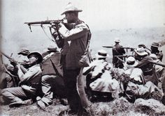 Armed Afrikaners (Boers) fighting against the British Empire in the Siege of Ladysmith. Ladysmith, Natal, South Africa, 1900 (Second Boer War) 🇿🇦 . British Soldier, British Army, The Veldt, Empire, British People, British Colonial, African History, British History, One In A Million