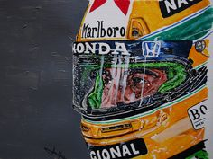 Ayrton Senna portrait by JuanCMendez on DeviantArt