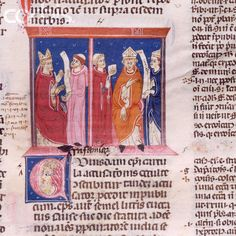 Detail from the Decretum Gratiani Manuscript by Gratian Museum of Biblioteca Capitular Tortosa