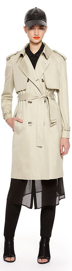 3 Times Is the Charm For DKNY's Convertible Trench