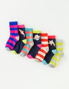 7 Pack Sock Box 53048 Socks & Tights at Boden