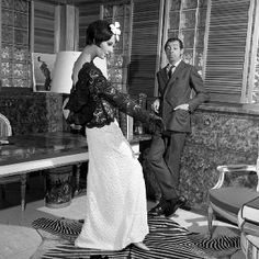 James Galanos! Another fabulous American vintage designer! That we should remember and honor in the fashion world today!
