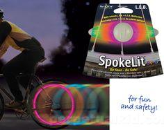 Spoke light that changes colors?