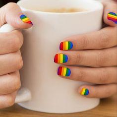 LGBT flag Minx ® Nail Art
